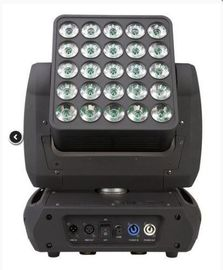 Cina Led Moving Head Light 25PCS 12W 4in1 Matrix Tanpa Batas / Pencuci Blinder Lighting pemasok