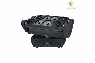 Cina DJ Laser Stage Light Delapan Kepala Spider Laser Moving Head Lighting 44 * 27.5 * 29cm pemasok