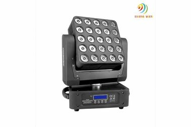 Hemat energi 25PCS 10W RGBW 4 in1 leds dj booth Beam Moving Matrix Headless Headless head