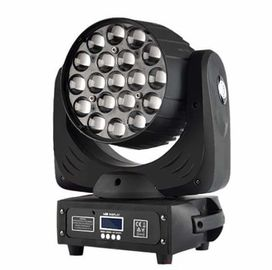 19X15W Led Zoom Moving Head Light Mode Aktif RGBW 4in1 Constant Current Drive