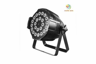 Kecerahan Tinggi 12w LED Stage Par Lights IP20 24pc × 12w 4 In1 26x26x39cm