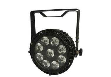 IP65 120W LED Stage Par Lights 6in1 Dengan Lens Besar 42mm, 6/10 DMX Channels
