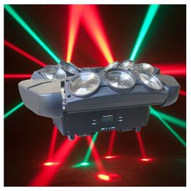 Cina 4 In1 9 Eye Spider Led Moving Head Light RGBW, 140 W Dmx Moving Head Lights pabrik